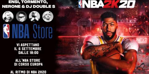 Lancio in grande stile con rap battle per NBA 2K20