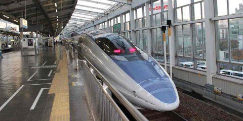 5G, connesso in Giappone un treno in corsa a 290 km/h