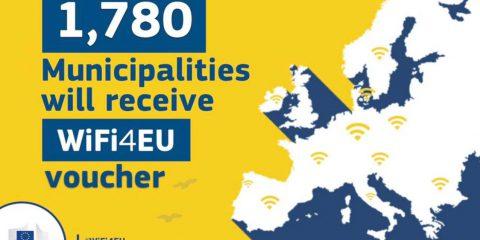 WiFi4Eu: arrivate 11.000 domande, sei volte il numero dei voucher disponibili