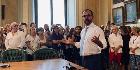 """Il ministro Fioramonti: 'Nuove tecnologie a scuola per rendere più divertenti le materie scientifiche"""""""