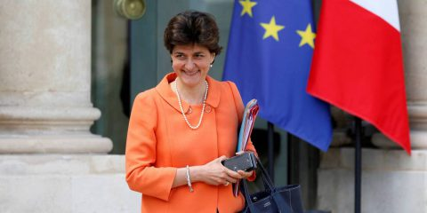 La Commissaria francese Sylvie Goulard responsabile Ue del Mercato Interno Digitale (DG Connect)