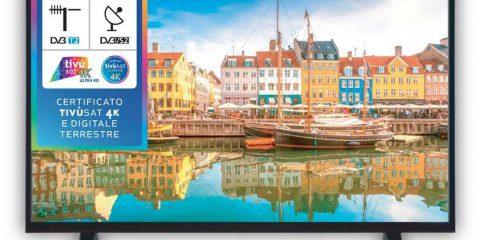 Certificazione Tivùsat per gli smart tv Hisense 2019