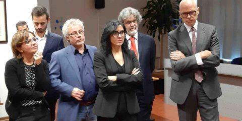 Il ministro Fabiana Dadone in visita al CSI Piemonte