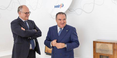 Vetrya, il ministro Gualtieri in visita ad Orvieto