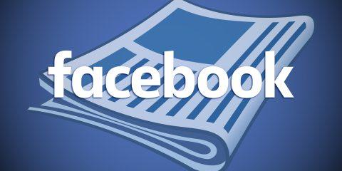 Facebook mette le mani anche sulle news