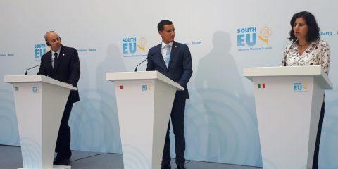 """Liuzzi: """"La Blockchain contro frodi e contraffazioni"""". E candida Bari per il prossimo summit del MED7"""