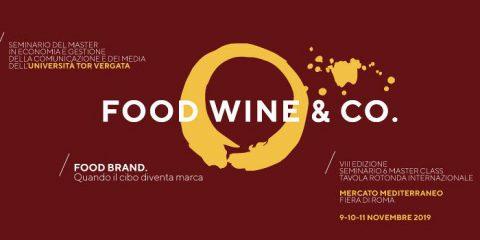 Food, Wine & Co., il 9 novembre al via l'ottava edizione