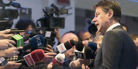 """Clima e inquinamento, Giuseppe Conte: """"Ulteriore fondo da 4 miliardi di euro in 4 anni"""""""