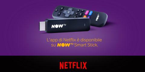 Netflix su NOW TV Smart Stick