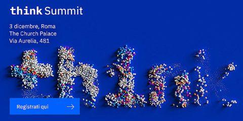 Aperte le iscrizioni al Think Summit di IBM. Roma, 3 dicembre 2019