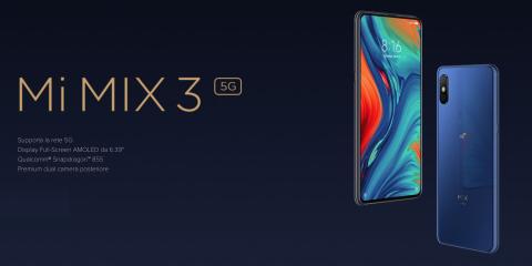 Cosa Compro. Xiaomi Mi Mix 3 5G: lo smartphone 5G ancora più economico