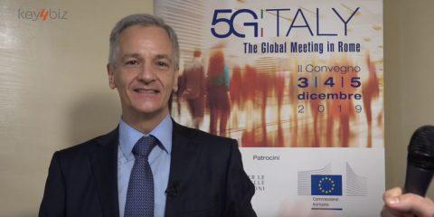 5G Italy 2019, l'intervento di Luigi Lusuriello (ENI)