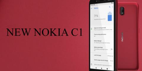 Nokia C1, smartphone super economico a 50 euro