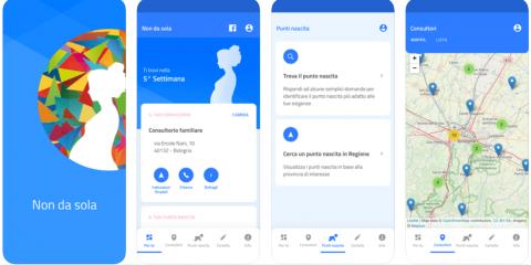 """Lepida presenta """"Non da sola"""", l'app per le donne in gravidanza"""