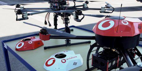 Connettere i droni con la SIM, la richiesta di Vodafone in Uk