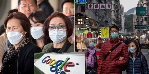 Il coronavirus fa paura anche ai Big Tech. Le decisioni di Google&Co in Cina