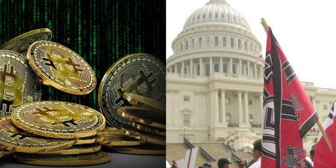 Criptovalute per finanziare terroristi e neonazisti negli USA, allarme a Washington