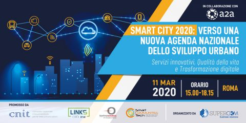 "Agenda ""Smart City 2020"". Roma, 11 marzo 2020"