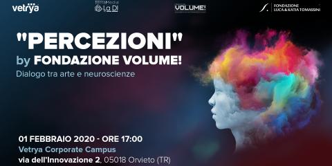 Al Corporate Campus di Vetrya va in scena 'Percezioni' di Fondazione Volume!