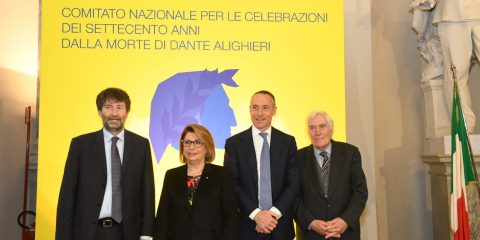 Del Fante (Poste italiane): 'Sosterremo in 70 piccoli Comuni le celebrazioni in onore di Dante Alighieri'
