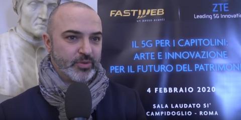 '5G per la sicurezza degli edifici storici di Roma'. Videointervista a Massimo Bugani (Roma Capitale)