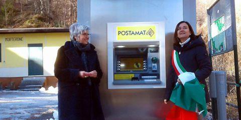 Poste italiane installa un Postamat a Morterone (Lecco), il Comune più piccolo d'Italia