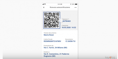 Covid-19, l'app per l'autocertificazione con lo smartphone e SPID. I pro e contro