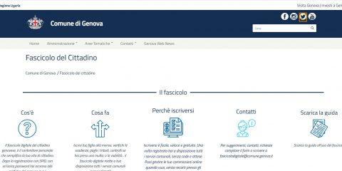 Fascicolo digitale del cittadino, al via la sperimentazione a Genova
