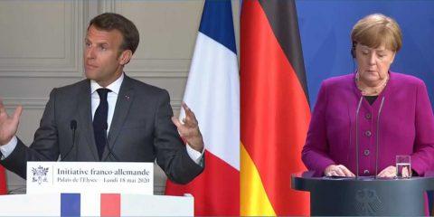 Asse Macron-Merkel per rilancio Ue: 5G, Green Deal e transizione digitale