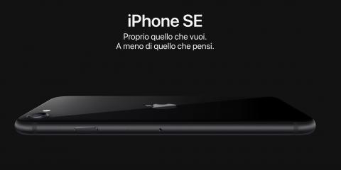 iPhone SE 2020 a rate con Vodafone, TIM, Iliad e WINDTRE