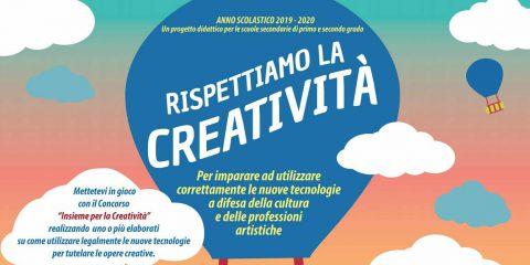 """""""Rispettiamo la creatività"""" a supporto delle scuole con la didattica a distanza, coinvolti 4 mila studenti"""