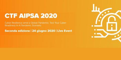 CTF AIPSA 2020, aziende in gara per la cyber resilienza e la cyber readiness