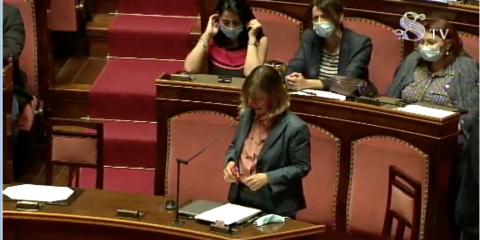 Zoom in Senato. La senatrice Mantovani cita Key4biz in Aula e propone: 'Le piattaforme della PA siano pubbliche e open source' (Video)
