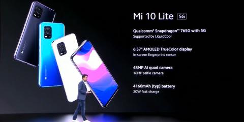 Xiaomi Mi 10 Lite: smartphone 5G a meno di 400 euro