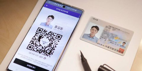 Patente di guida digitale, in Corea prenderà la forma di un QR code e un codice a barre