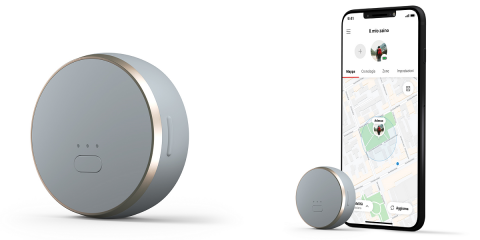 "Arriva ""Curve"", lo smart GPS tracker ""Designed & Connected by Vodafone"""