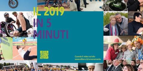 Fondazione Allianz  Umana Mente presenta il Bilancio di Missione 2019