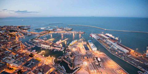 Porto di Livorno, grazie al 5G taglio CO2 e +25% di produttività
