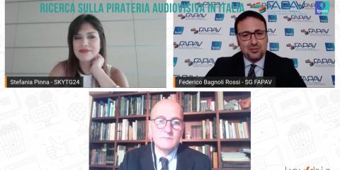 Pirateria audiovisiva in Italia, nuova ricerca FAPAV/Ipsos: danno all'economia per oltre un miliardo di euro, quasi 6.000 posti di lavoro persi