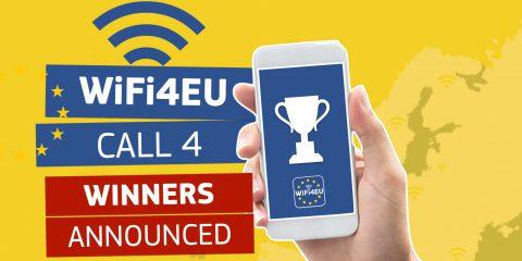 WiFi4EU, sono 292 i Comuni italiani vincitori dei voucher da 15 mila euro