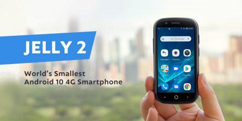 Jelly 2 in arrivo, lo smartphone 4G Android 10 più piccolo al mondo