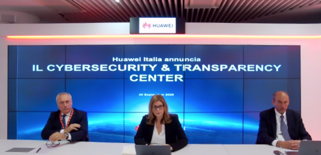 Huawei_cybersecurity&trasparency center di Roma