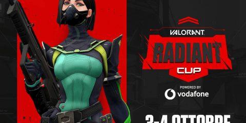 Valorant Radiant Cup di Vodafone, 3-4 ottobre sfida tra i migliori streamer italiani