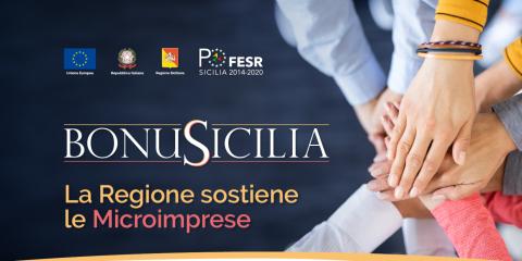 BonuSicilia, 125 milioni di euro per le microimprese. Come partecipare