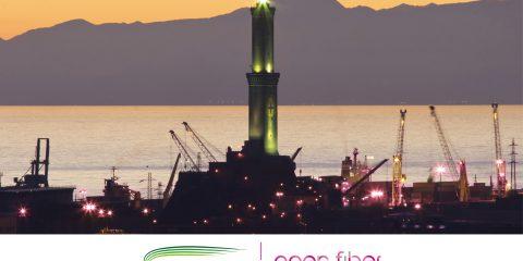 Open Fiber, accordo con Fibering per il progetto Genova