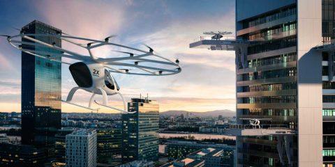 Taxi in volo su Tokyo entro il 2023, motore elettrico e velocità massima di 110 km/h
