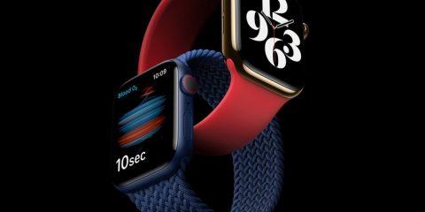 Vodafone dà il via alla distribuzione dei nuovi Apple Watch Series 6 e SE