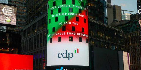 Cdp prima istituzione italiana nel Nasdaq sustainable bond network