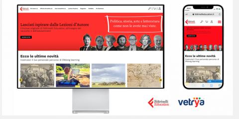 Feltrinelli Education, Vetrya rilascia la nuova piattaforma