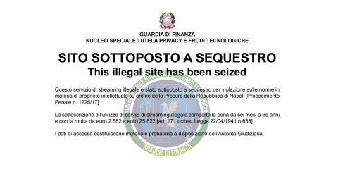 Pirateria online, GdF confisca beni per 10 milioni di euro